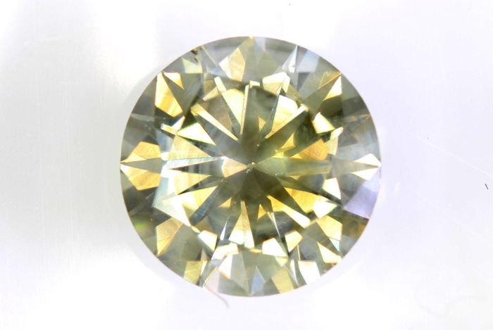 AIG Sealed Diamant - 1.51 ct - Fancy Light Brown