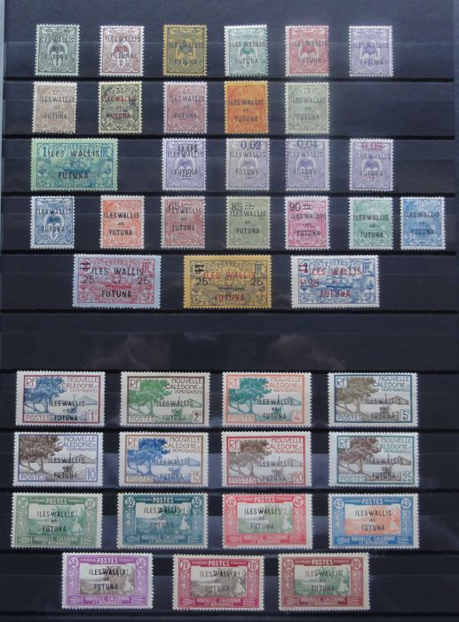 Wallis and Futuna 1920/1975 - Stamp Collection