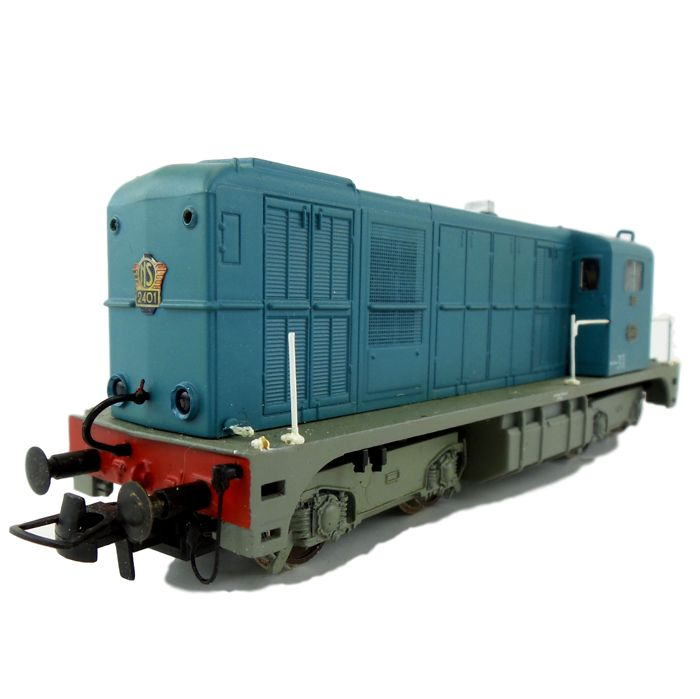 DKM/Holland Rail/Philotrain H0 - Diesel locomotive - Serie 2400 in blauwe kleurstelling - NS