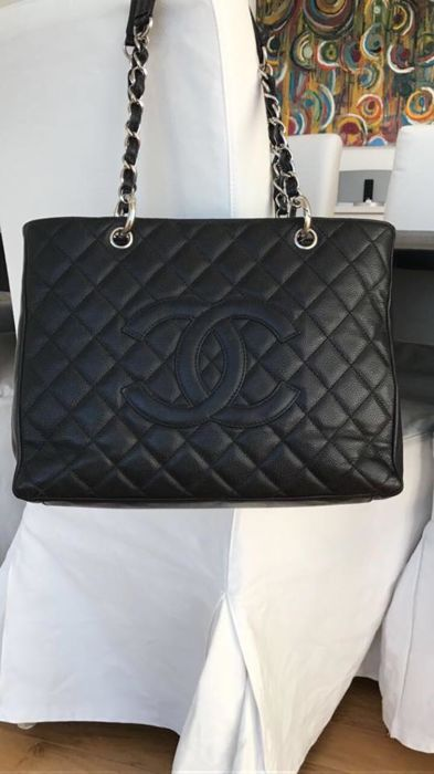 40219ff896e1 Chanel - Grand Shopping Tote Shoulder bag - Catawiki