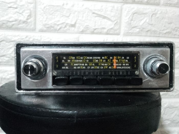 Car radio, Pressmatic Deluxe PK1bZ