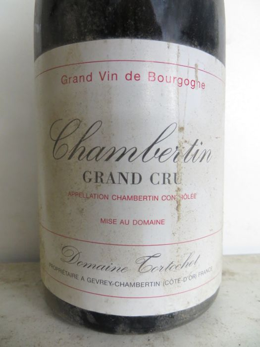 1997 Chambertin Grand Cru Domaine Tortochot x 1 bottle