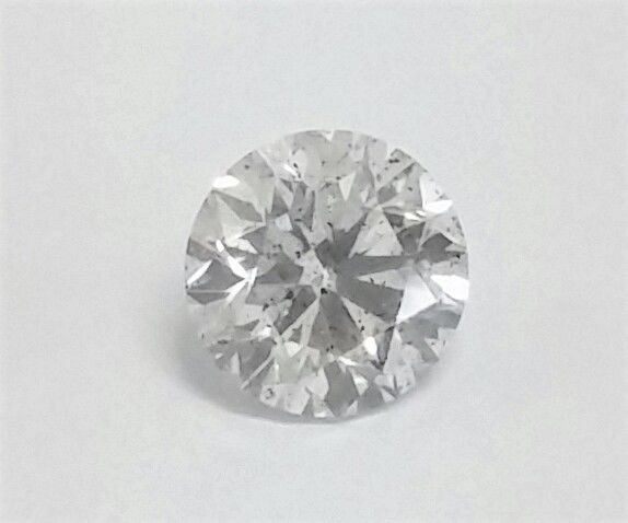 1.33 carat Diamond , D color , SI1 clarity , UNTREATED  , 3 x EX -  AIG certified + Laser Inscription on Girdle