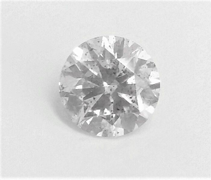 Round Brilliant Cut  - 2.03 carat  - G color  - SI1 clarity  - 3 x EX - Natural Diamond  - With AIG Big Certificate + Laser Inscription On Girdle