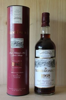 Glendronach 1968 25 years old - US import OB