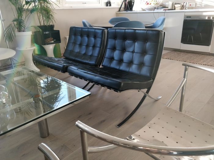 Mies Van Der Rohe For Knoll 2 Barcelona Chairs Catawiki