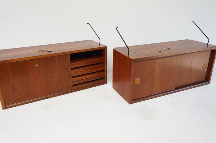 Poul Cadovius for Royal System - Cupboard, teak wood (2 x)