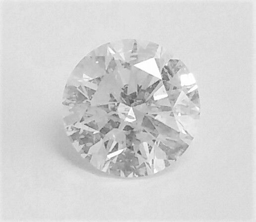 Diamond of  1.23 carat , F color , SI2 clarity , Big AIG certificate + Laser Inscription on Girdle , 3 x EX.