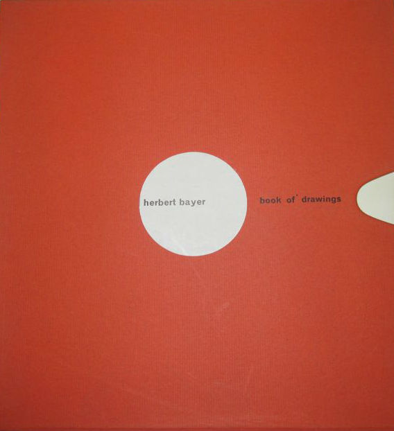 Signed; Herbert Bayer - Book of drawings / 42 drawings - 1961
