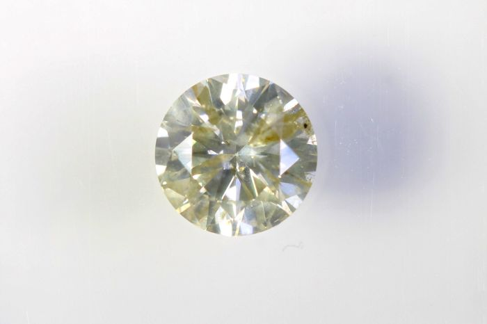 AIG Diamond - 0.46 ct - N , I1 -  * NO RESERVE PRICE *