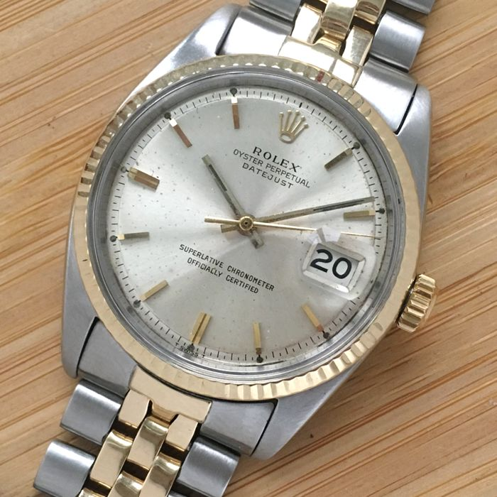 Rolex - Oyster Perpetual Datejust  - Ref. 1601 - Hombre - 1960
