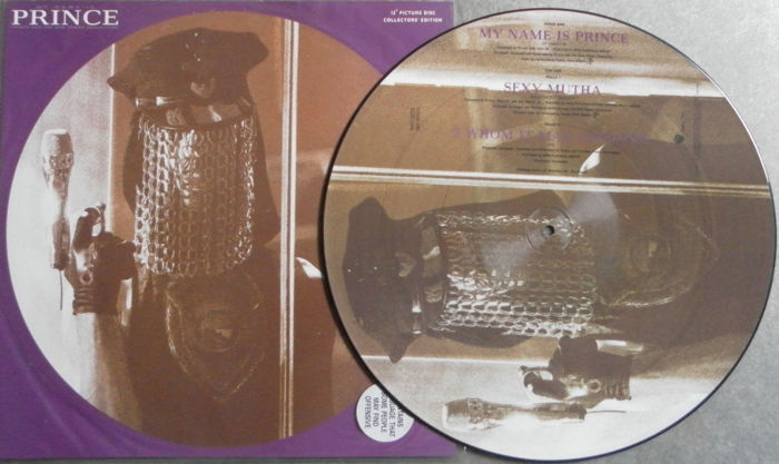 my name is prince 2 rare albums and a mint picture disc catawiki