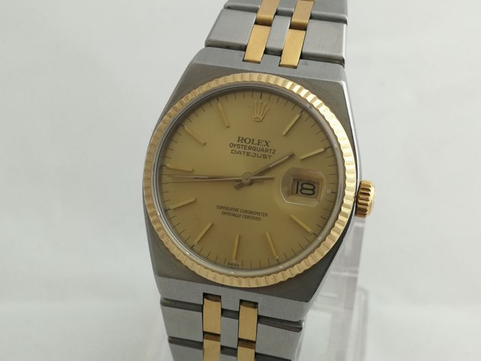 Rolex - OysterQuartz Datejust - 17013 - Men - 1990-1999