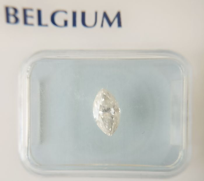 0.48 ct Marquise cut diamond I VS2 *** No Reserve ***