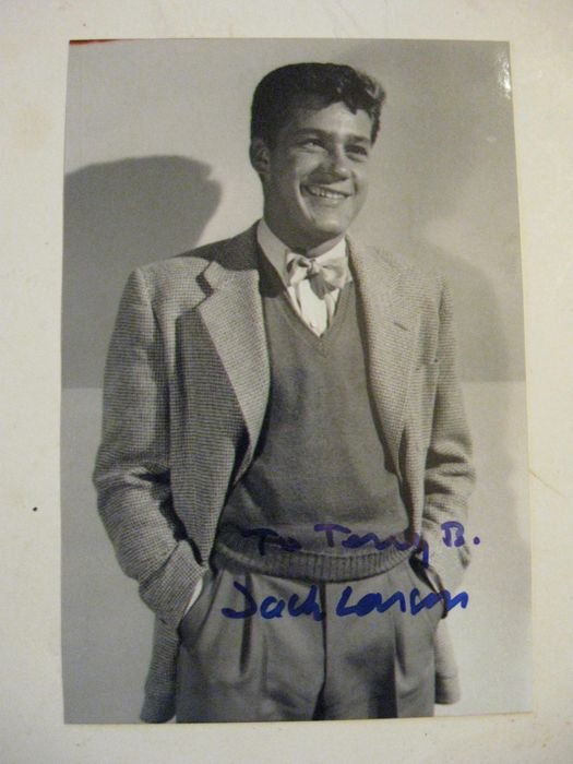 Gay interest; Jack Larson - Cherry, Larry, Sandy, Doris, Jean, Paul & other memorabilia (photos etc.) - 1959/1975