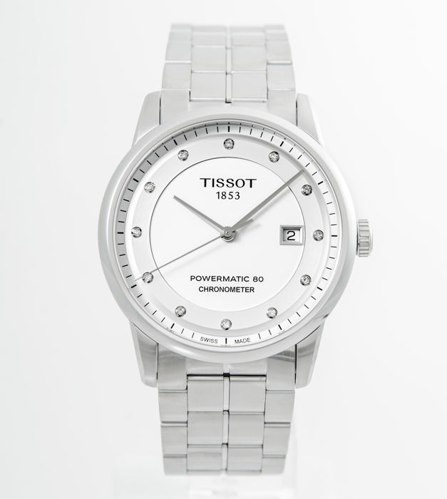 Tissot - Luxury Automatic White Dial - T086.408.11.016.00 - Heren - 2011-heden