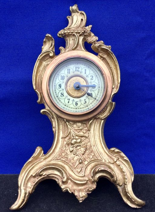 French mantel clock - approx. 1900