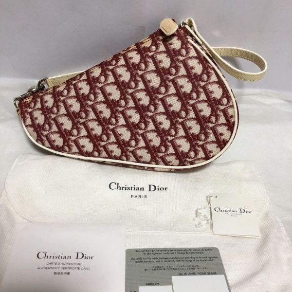 Christian Dior - Saddle Clutch tas