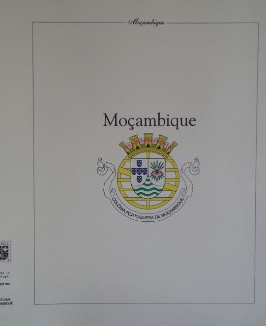Mozambique 1880/1975 – Collection in pre-printed sheets