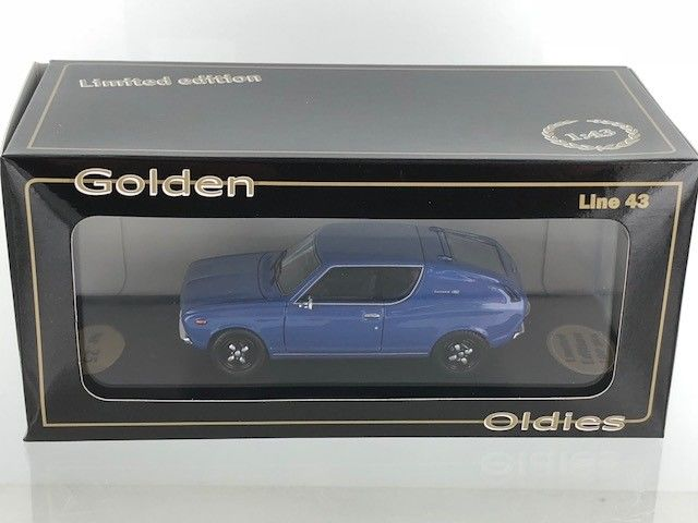 Other - Other - Golden Oldies - 1:43 - Datsun 120A Coupe Blauw - BEV1069