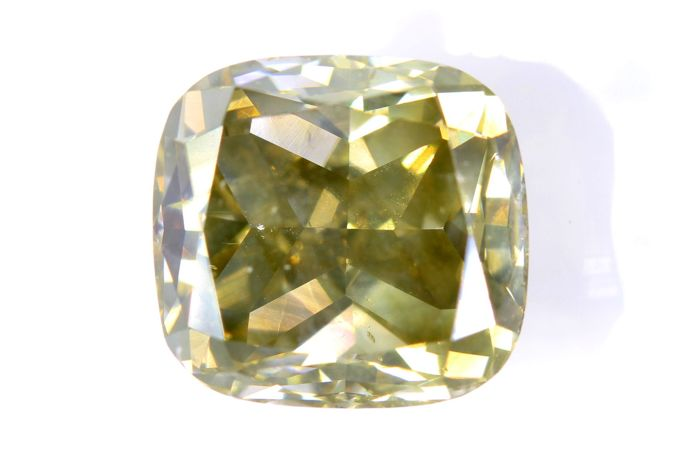 AIG Sealed Diamant - 5.22 ct - Fancy Brownish Yellow