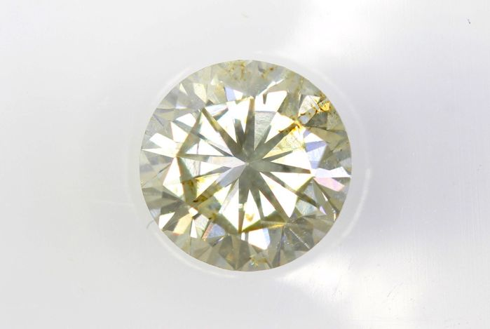 * NO RESERVE PRICE * - AIG Sealed Diamond - 0.70 ct - Fancy Light Yellowish Brown - SI2