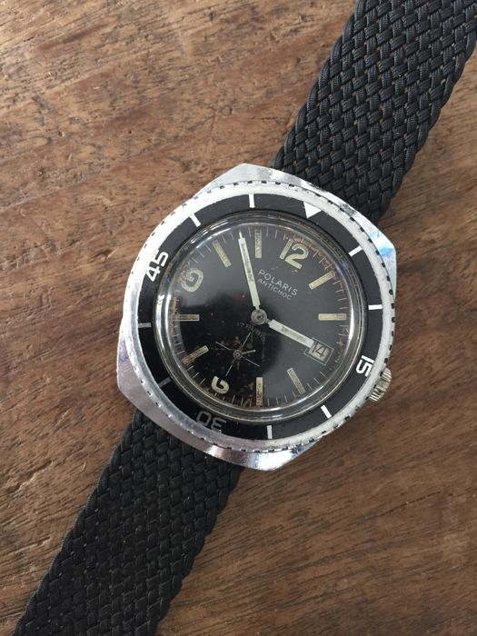 Polaris  - Very Rare Vintage Diver - Crosshair dial - 1960 - Heren - 1960-1969
