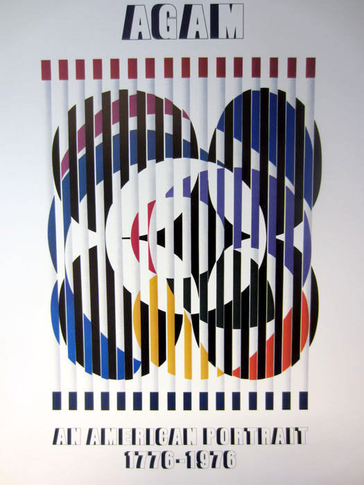 Yaacov Agam - Birth of  a flag
