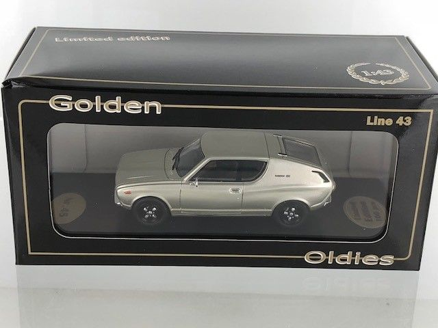 Golden Oldies - 1:43 - Datsun 120A Coupe Zilver - BEV1070