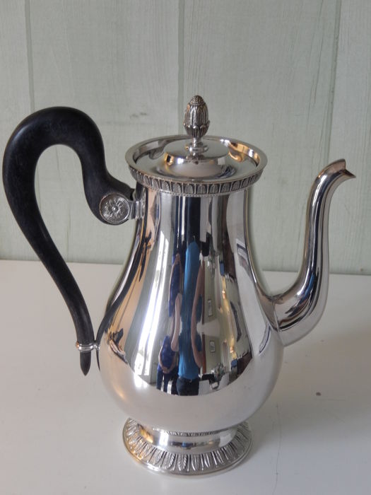 Christofle coffee maker
