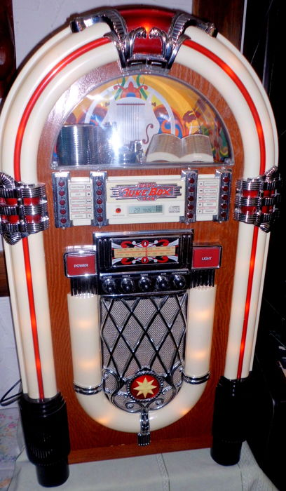 xxl musicbox jukebox retro wurlitzer elta 2753 baby. Black Bedroom Furniture Sets. Home Design Ideas