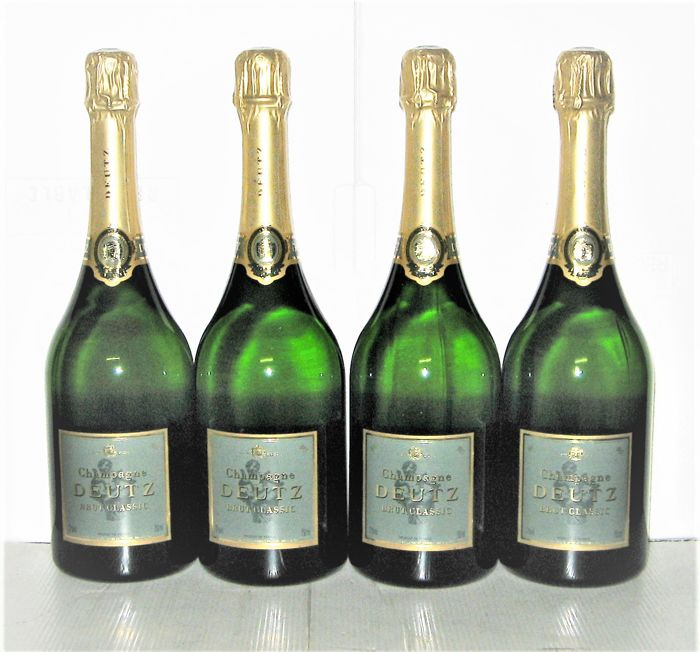 champagne deutz brut classic lot 4 bouteilles 75cl catawiki. Black Bedroom Furniture Sets. Home Design Ideas