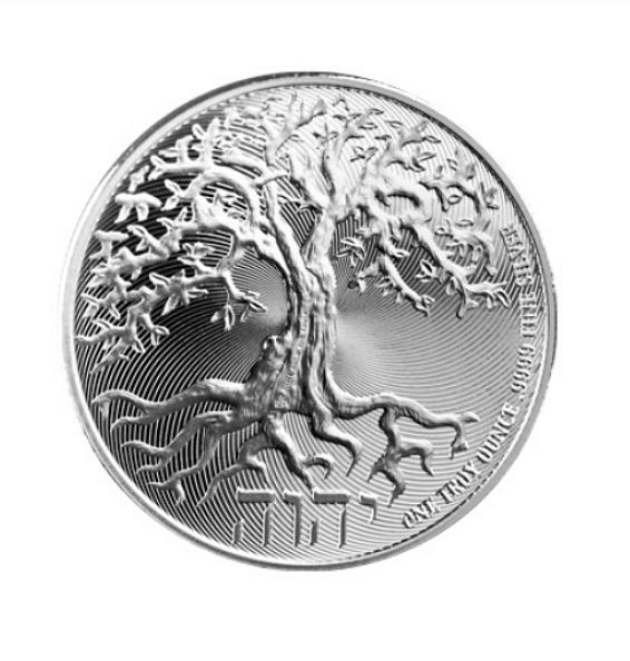 Niue – 2 Dollar 2018 'Tree of Life' – 1 oz silver