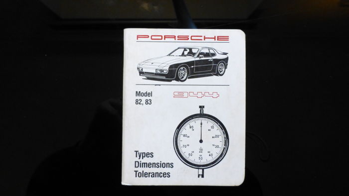 Porsche 944 1982-1983 Technical Specifications