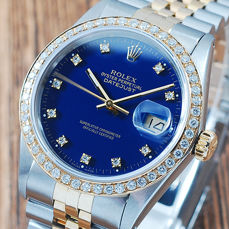 Rolex -  Oyster Perpetual Datejust - 16013 - Heren - 1980-1989