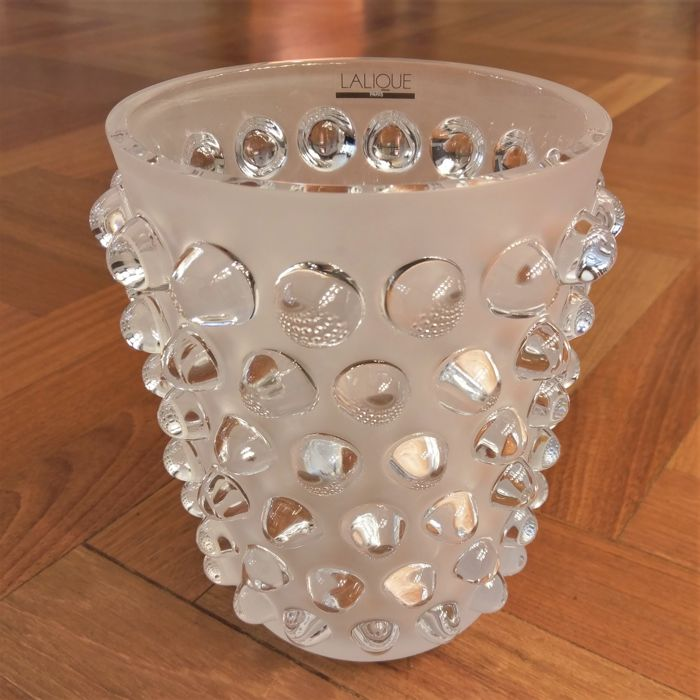 Lalique - Mossi Clear Vase 1220700