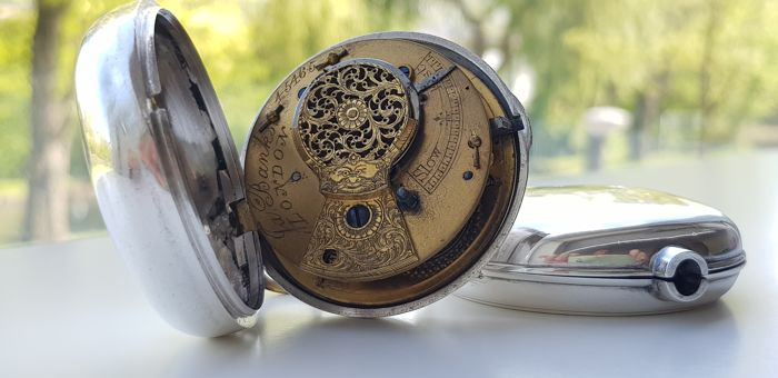 Fa.Banks - fusee verge escapement pocket watch - pre-1850