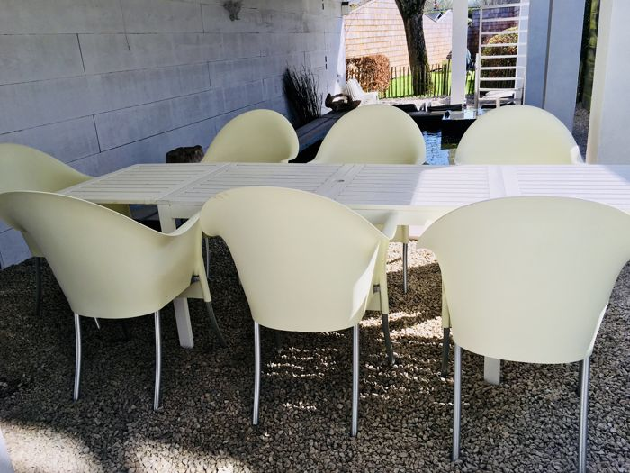 Philippe Starck Design Stoelen.Philippe Starck For Driade Aleph 6 Chairs Lord Yo Catawiki