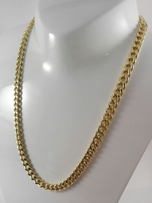 Unisex necklace in 18 kt yellow gold Weight: 32.0 g