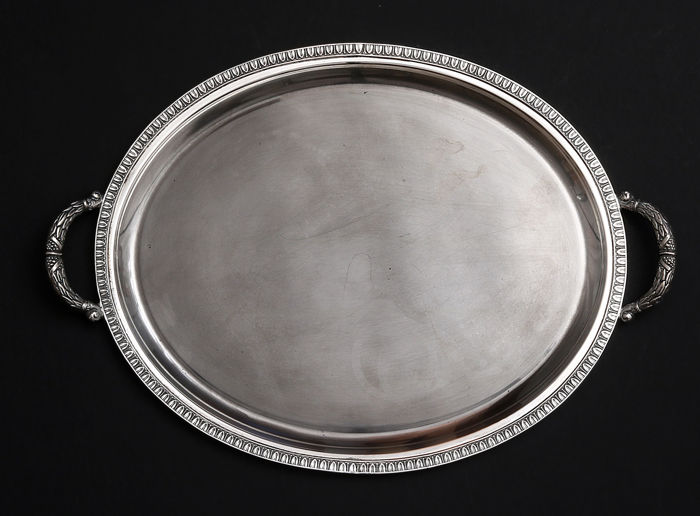 Important Silver Two Handled    -Stancampiano Eugenio    -Palermo 1944-1968