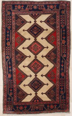 Hand-knotted Persian rug - Kolyia, 153 x 254 cm - Iran - around 1990