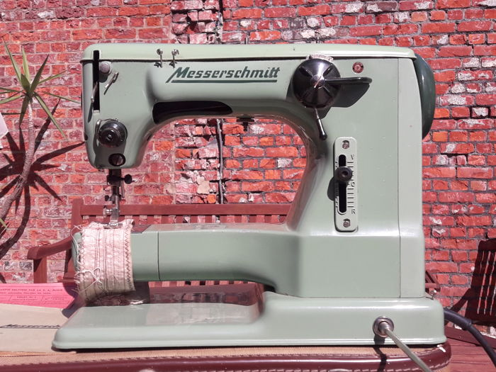 Very rare Messerschmitt KL.52.ZZ sewing machine - Germany, 1950s