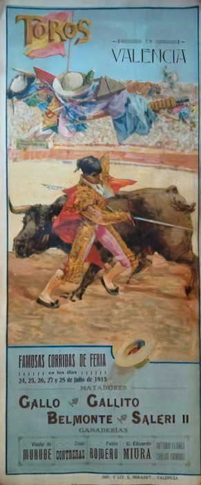Anonymous - Plaza de toros Valencia - 1915