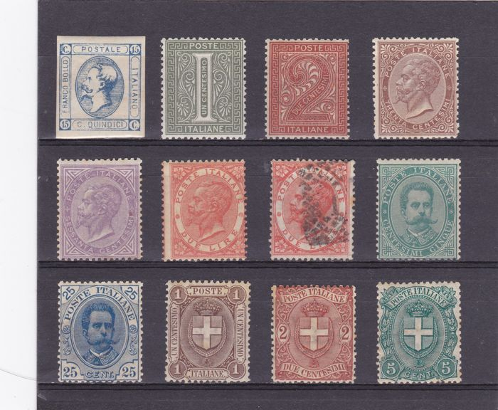 Italy, Kingdom, 1863/1922 – A selection of the period
