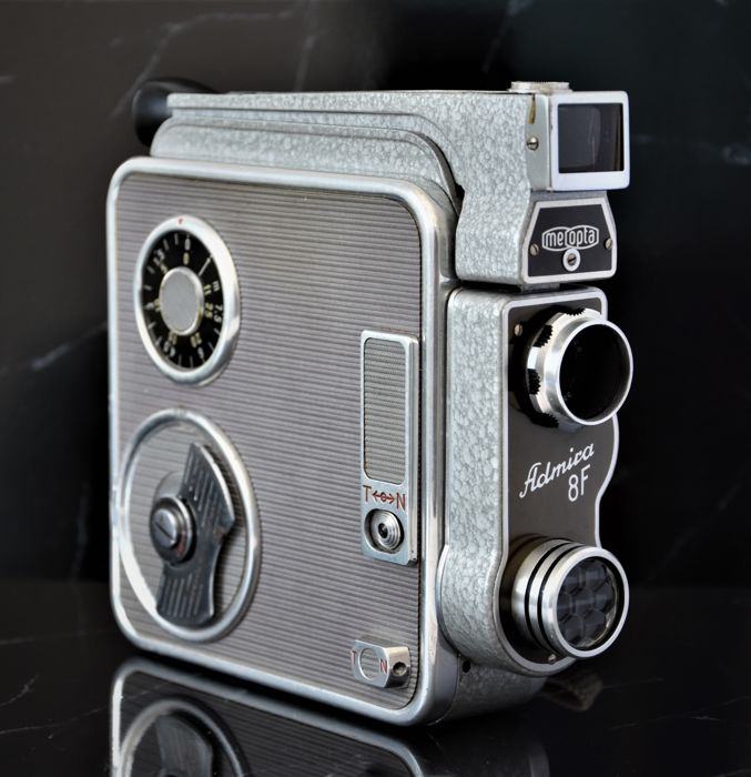 1960  MEOPTA   'Admira 8F'   8mm Cine/Movie Camera.