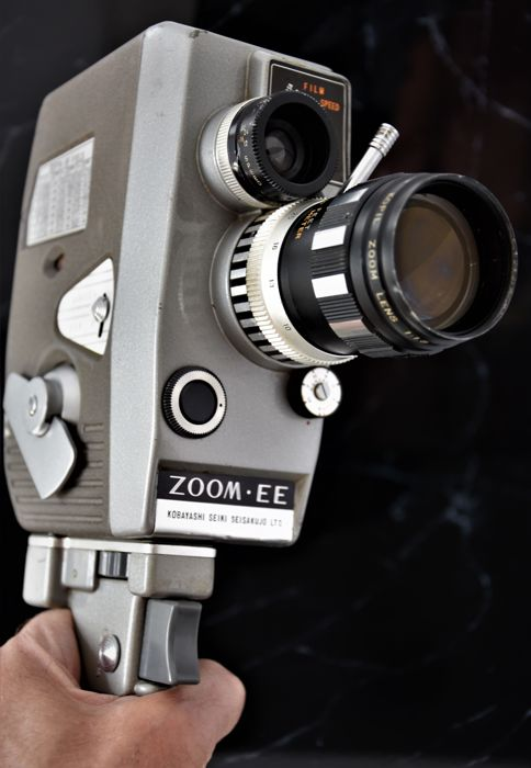 1962   KOPIL    'Zoom 8  EE'  8mm Cine/Movie Camera.