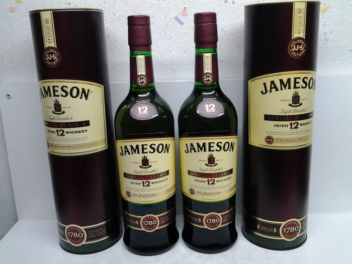 Jameson 12 years old Special Reserve - Official bottling - 700ml - 2 flessen