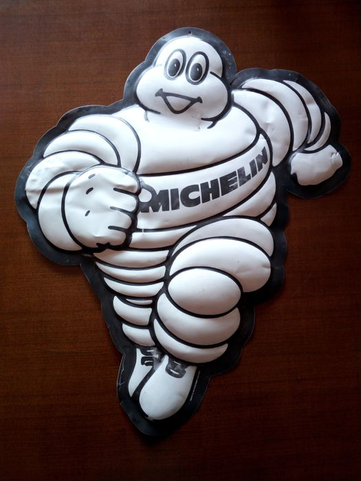 Bibendum - original advertising Michelin Man - 1980s