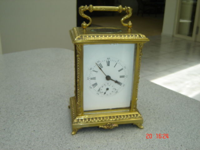 Antique travel alarm clock - Japy Freres (Made in France) - Ca 1880