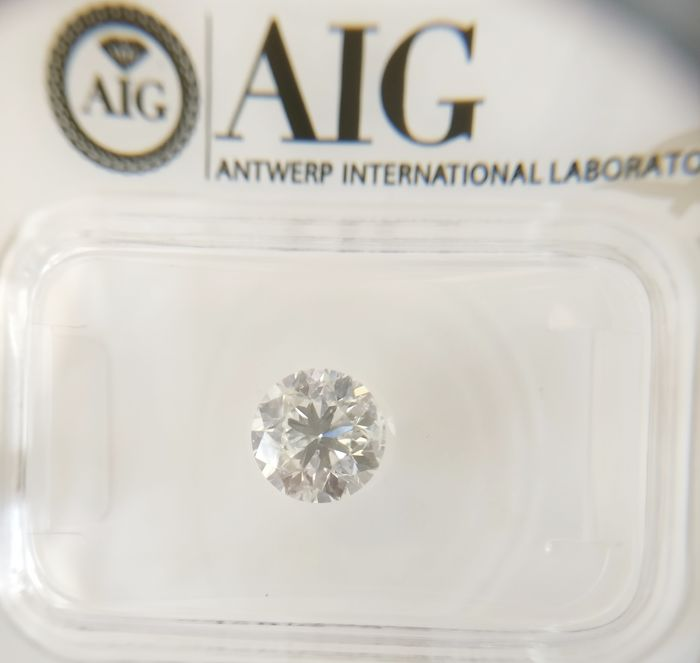 1.00 ct Round cut diamond E SI2